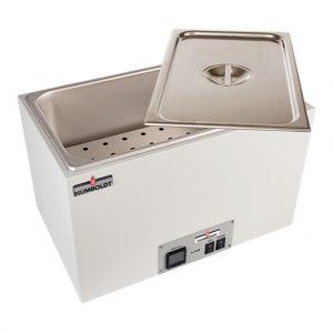 Baño termostático para la preparación de briquetas de asfalto en el ensayo Marshall. Según normas ASTM D6927, D5581 y D4867