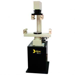 Bastidor tipo C para el ensayo de resistencia a la flexión de cilindros de concreto. Capacidad de 150 kN. Según las normas ASTM C78 y C293