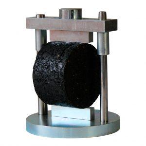Cabezote Lottman para determinar la resistencia a la tracción indirecta de mezclas asfálticas. Normas ASTM D6931 y AASHTO T283
