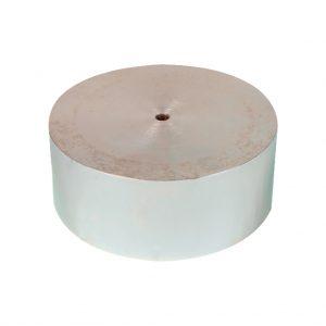 Disco espaciador de aluminio para el ensayo CBR. Según normas ASTM D1883 y INV E-148
