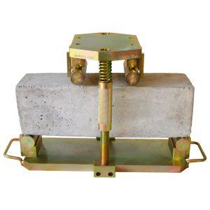 Dispositivo de tercios para ensayar viguetas normales de concreto según la norma ASTM C78