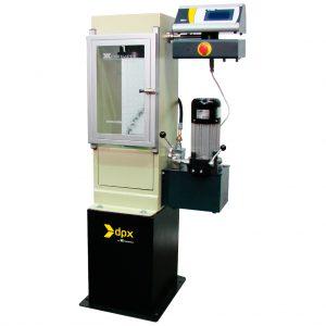 Máquina automática para ensayos a compresión en cilindros de concreto. Según las normas ASTM C39, C78, C109, C140, C293, C348 y AASHTO T22