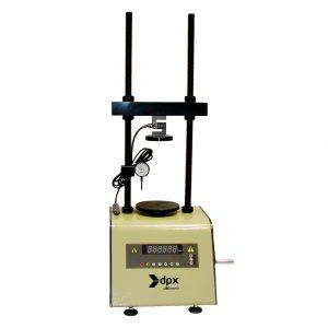 Máquina para compresión inconfinada de suelos de 5 kN de capacidad. Según normas INV E-152 y ASTM D2166