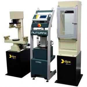 Máquina super-automática para ensayos a compresión y flexión de concreto, según las normas ASTM C39, C78, C109, C140, C293, C348 y AASHTO T22
