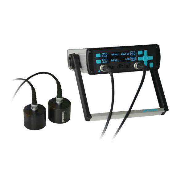 Medidor ultrasónico portátil Pundit Lab+ para control no destructivo en el concreto