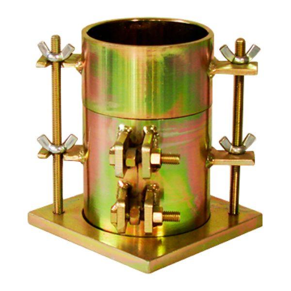 Molde cilíndrico metálico para el ensayo de Proctor estándar. Según norma ASTM D698