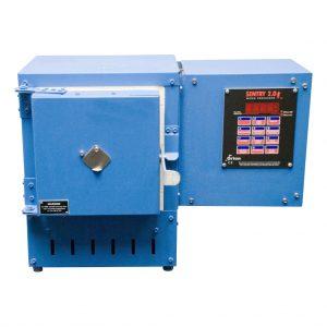Mufla eléctrica de laboratorio para incineración, pruebas de ignición, análisis gravimétricos y determinación de materia volátil
