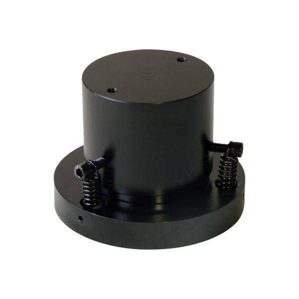 Rótula metálica para realizar ensayos a compresión en bastidores de ensayo de bajo rango