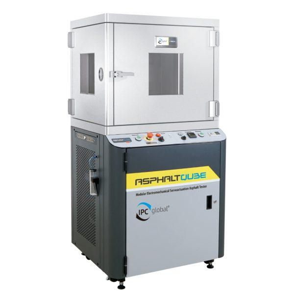 Sistema de ensayos electromecánico AsphaltQube EmS fabricado para realizar ensayos de rigidez y fatiga