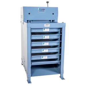 Tamizadora de trabajo pesado para separar muestras de agregado. REF: TS-1